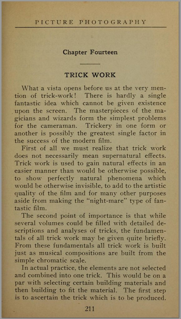 The Handbook of Motion Picture Photography by Herbert C. McKay A.R.P.S.